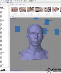 3D Head Scans; M014, Neutral 360 13