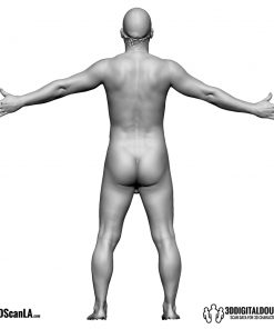 Male Body Scan; BS, T-Pose 4