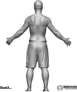 Male Body Scan; CA, T-Pose 5