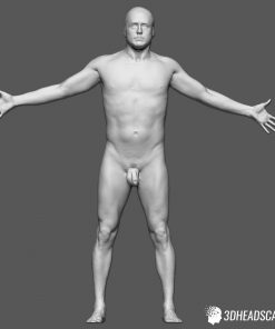 Male Body Scan; KK, T-Pose 10