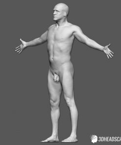 Male Body Scan; KK, T-Pose 11