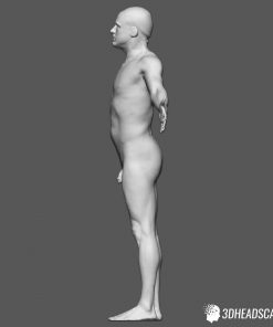 Male Body Scan; KK, T-Pose 12