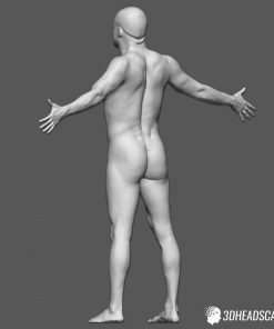 Male Body Scan; KK, T-Pose 13