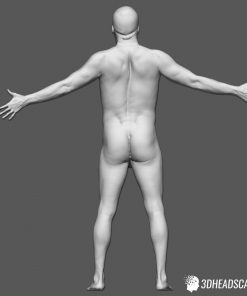 Male Body Scan; KK, T-Pose 14