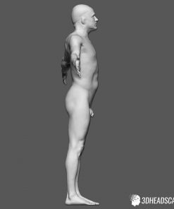 Male Body Scan; KK, T-Pose 16