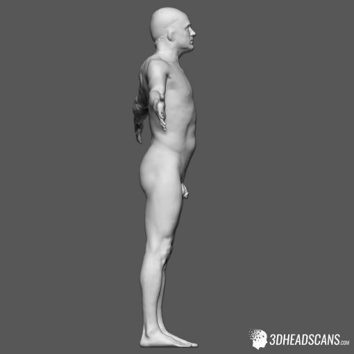 Male Body Scan; KK, T-Pose 8