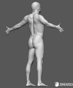 Male Body Scan; KK, T-Pose 17