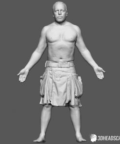 Male Body Scan; SM, T-Pose 10