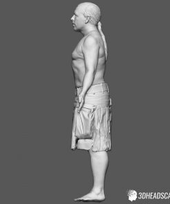 Male Body Scan; SM, T-Pose 12