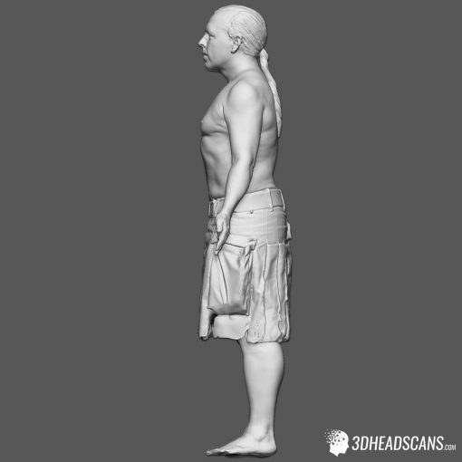 Male Body Scan; SM, T-Pose 4