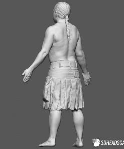 Male Body Scan; SM, T-Pose 13