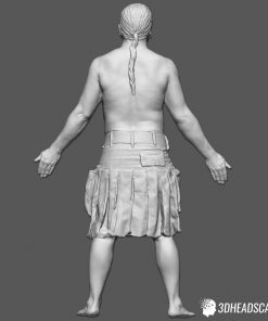 Male Body Scan; SM, T-Pose 14
