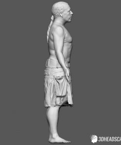 Male Body Scan; SM, T-Pose 16