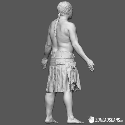 Male Body Scan; SM, T-Pose 9