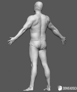 Male Body Scan; SS, T-Pose 11