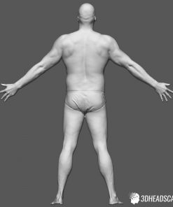 Male Body Scan; SS, T-Pose 12