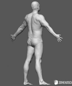 Male Body Scan; SS, T-Pose 13
