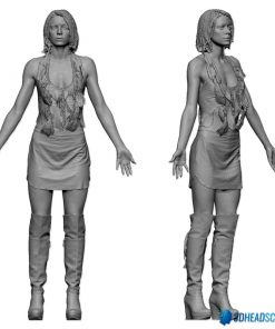 Female 3D Body Scan F049, 010 8
