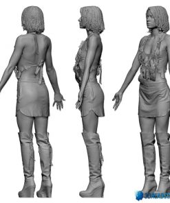 Female 3D Body Scan F049, 010 10