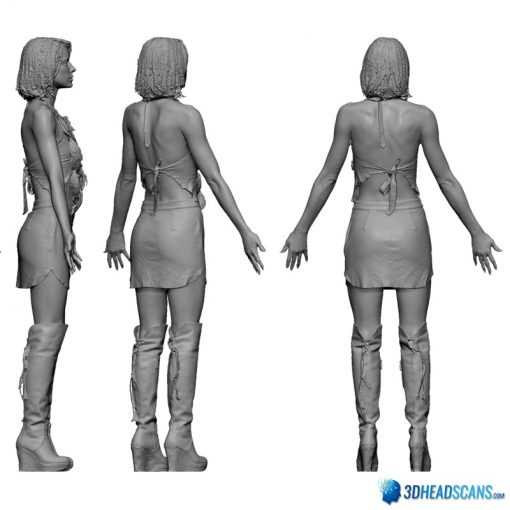 Female 3D Body Scan F049, 010 6