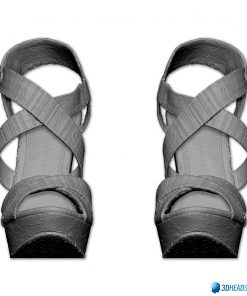 Female Shoes; Colorful Wedge 7