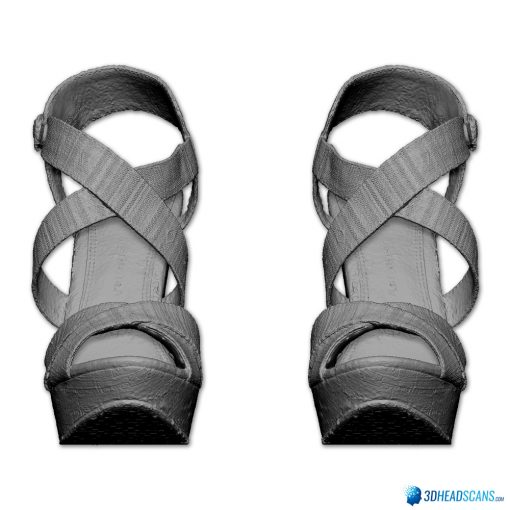 Female Shoes; Colorful Wedge 2