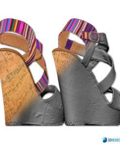 Female Shoes; Colorful Wedge 8