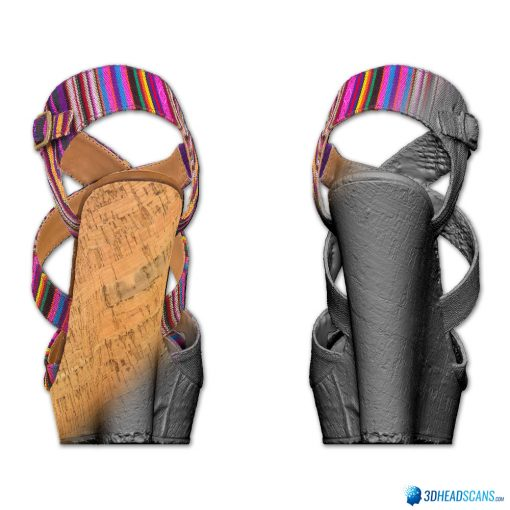 Female Shoes; Colorful Wedge 6